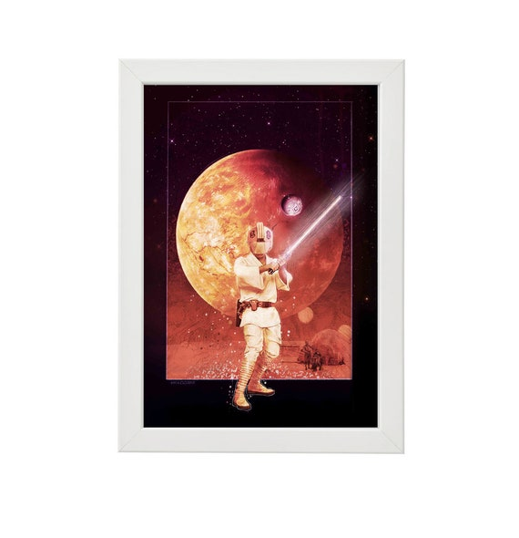 Star Wars Episode Iv A New Hope Classic Trilogy Artwork Etsy