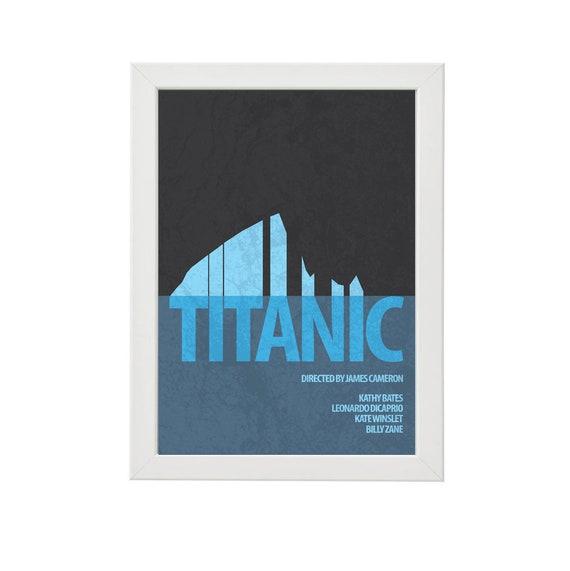 A4 Sizes The Titanic Leonardo DiCaprio Vintage Movie Poster A2 A1 A3