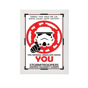 The Imperial Rebellion Needs You Stormtroopers United Etsy