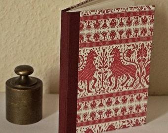 Lion book ~ handmade