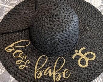 1574bd4ea3e45 Arbonne Boss Babe Floppy Beach Hat