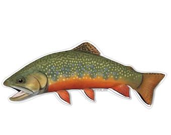 f9f7612da720 Brook Trout Sticker (Large)
