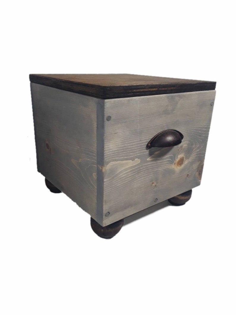 Brilliant 12 Inch Wood Storage Box For Use In Storage Cube Units Or As A Footstool Camellatalisay Diy Chair Ideas Camellatalisaycom