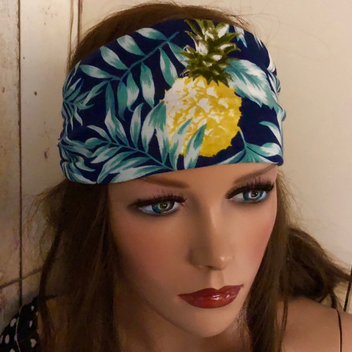 Headwear Starfish On Beach Sweatband Elastic Turban Sport Headband Outdoor Head Wrap
