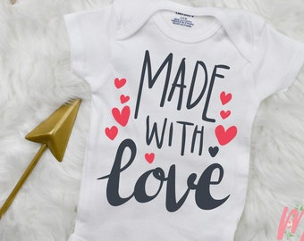Made with Love Onsie