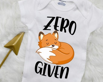 Cute Baby Bodysuit Funny Onesie Cute Onesie 311Z Girl Onesie Animal Onesie Zero Fox Given Onesie\u00ae Boho Baby Onesie Fox Onesie