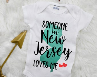 My Mimi in New Jersey Loves Me Toddler//Kids Long Sleeve T-Shirt
