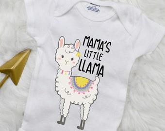 Llamaste Namaste Spiritual Alpaca Llama  Newborn Romper Bodysuit For Babies