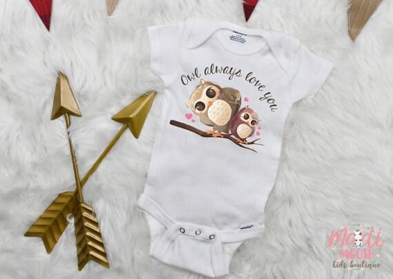 Baby Girl Owl Gift Owl Baby Shower Gift Baby Boy Owl Gift Owl Baby Gift Gender Neutral Baby Gift Baby Shower Gift Owl Baby Bodysuit