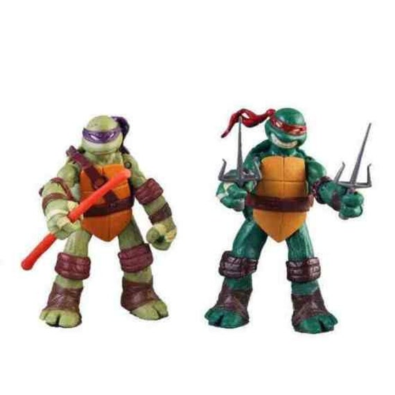 "Teenage Mutant Ninja Turtles TMNT Classic Collection 5/"" Action Figure Toys 4PC!"
