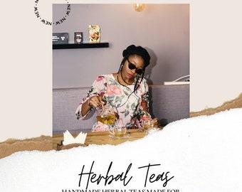 Herbal Tea // Tea Blends // Steeping Tea // Organic Tea // Tea Bags // Infused Teas // Loose Teas