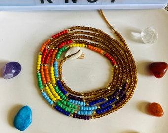 Ìbíjoké // Waistbeads // Crystals // Goddess Beads // African WaistBeads // Belly Chains