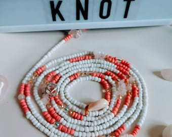Onyeka // Waistbeads // Crystals // Goddess Beads // African WaistBeads // Belly Chains