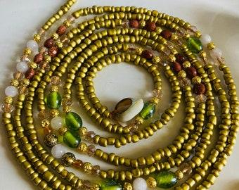 Mojisola // Waistbeads // Crystals // Goddess Beads // African WaistBeads // Belly Chains