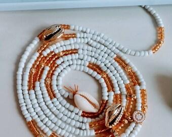 Refilwe // Waistbeads // Crystals // Goddess Beads // African WaistBeads // Belly Chains