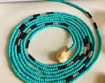Motúnráyò // Waistbeads // Crystals // Goddess Beads // African WaistBeads // Belly Chains