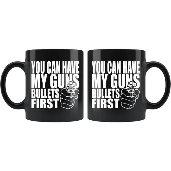 Gun Mug Gun Owner Mug Gun Owner Gifts Anatomy Of A Bullet Mug 2nd Amendment Mug
