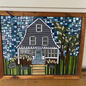 Example of a Custom Happy Home Mosaic