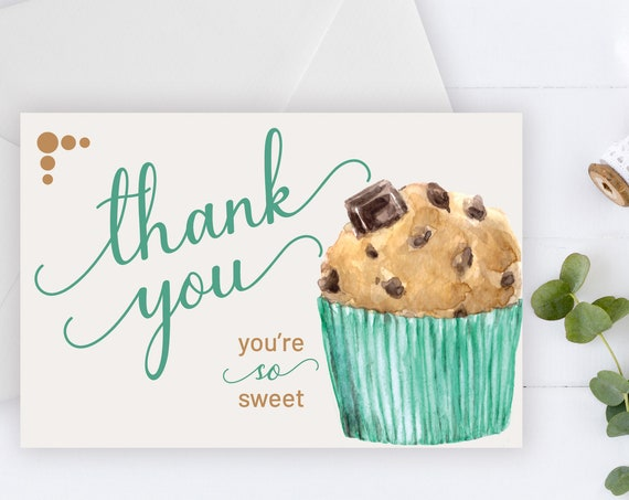 INSTANT DOWNLOAD - Thank You Card, Thank you postcard,Thank yous, Diy thank you card, Sweet thank you, Thank you pdf, Thank you notes