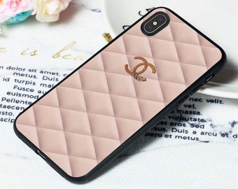 86bad30979cb Luxury Case Samsung S10 Plus iPhone Xs Max Case Xr Case X 7/8 7+ 8 Plus Case  Chanel Samsung S10 Case S9 Plus S8+ S7 Edge Note 9 8 7 5 Custom