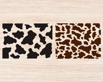 image about Cow Spots Printable identified as Cow template Etsy