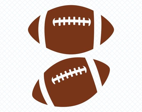 Football Svg Football Svg Files Football Silhouette Football Etsy