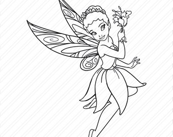 Trotting Cute Unicorn Fairy Princess Magical Girls Kids Instant Download Vector Art Cricut Cut Design Print svg png jog dxf ai Files