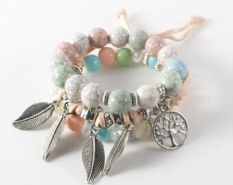 d9798d407d81c Multi layer bracelet | Etsy