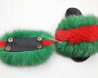 62cd8670332 Gucci inspired slides accessories for ur fur slides