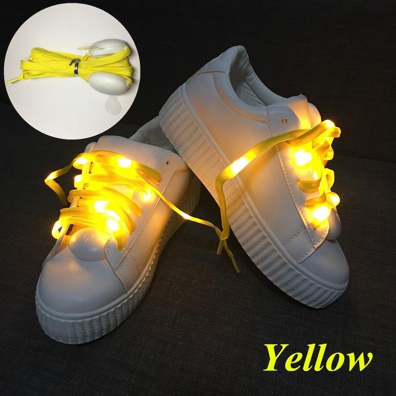 Led shoelaces light for christmas festival home party decoration color fashion
