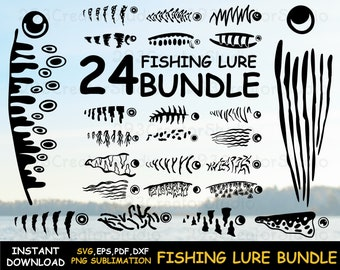 Download Fishing Lure Svg Etsy