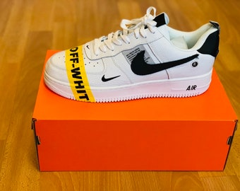 265c760332e0 Custom Air Force 1 OW (industrial tape)