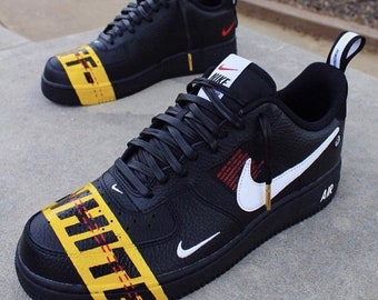 sale retailer f9173 25004 Custom Air Force 1 Utility OW (industrial tape). JWCcustoms. in United  Kingdom