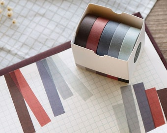 5 Rolls in a Box Kalolary Colorful Masking Tape Set Labeling Craft Tape for DIY Decorations Scrapbooking Supplies Kids Teachers /& Painters 3 Boxes Solid Color Washi Tapes