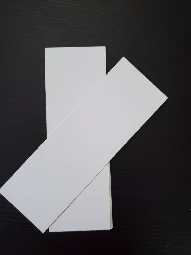 Blank Bookmark Die Cut