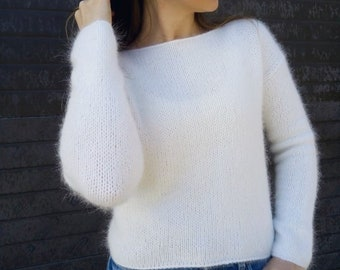 8a07e5d41 Angora wool sweater