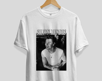 32305bde2 Shawn Mendes Inspired tshirt , Gift for fan, Unisex, Vintage Style, 90s, Tee,  Shawn Mendes merch, Shawn Mendes tour, concert