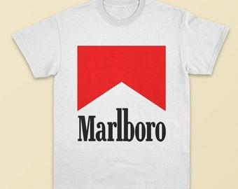 da792abf9c33 Marlboro T-shirt, Cigarettes T-shirt, Marlboro T shirt, Unisex Marlboro T  shirt