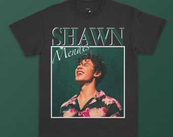 b09827f9f Shawn Mendes Inspired Shirt - Homage T-shirt, Gift for fan, Unisex  Sweatshirt, Vintage Style, 90s, Tee
