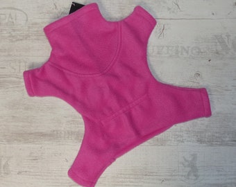 Cuddly fleece suit for dogs - dog overalls - dog joggers - dog sweaters - warm dog clothes - dog coat dog jacket pajama suit