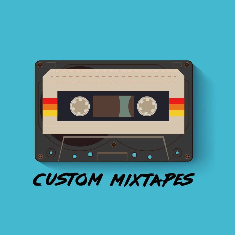 Create a Custom Cassette Mixtape!