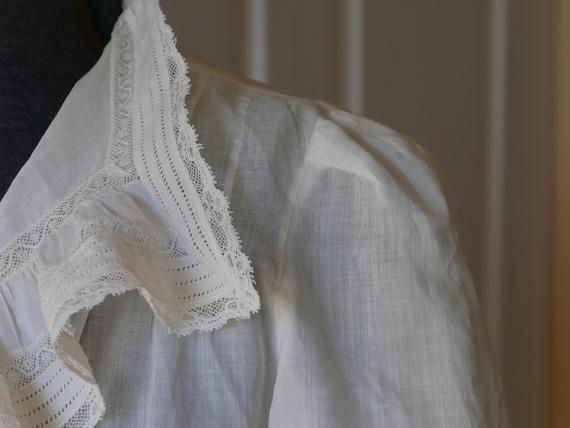 Edwardian blouse, antique blouse