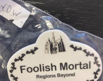 Disney Inspired Name Fantasy Tags Haunted Mansion