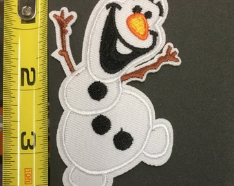 Disney Olaf  Embroidered Iron On/ Sew On Applique Patch