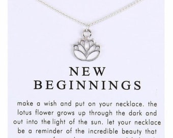 New Beginnings Necklace Etsy