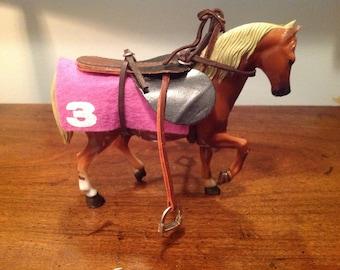 Miniature saddle | Etsy