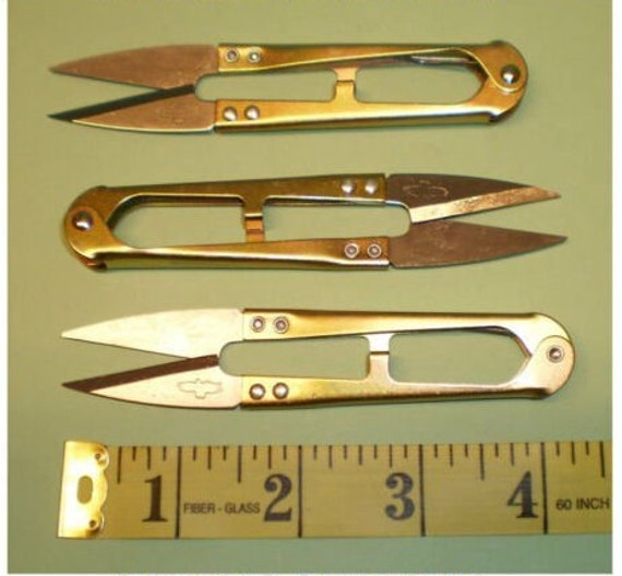 SEWING Scissor Shear First Aid 12 Golden Eagle Multi Color Nippers CLIPPERS