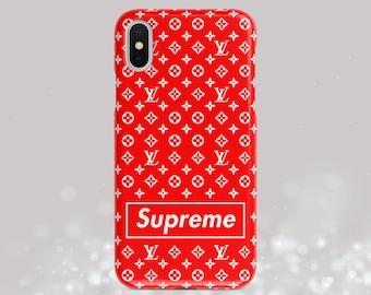 new style ad4d7 c9490 Lv supreme case   Etsy