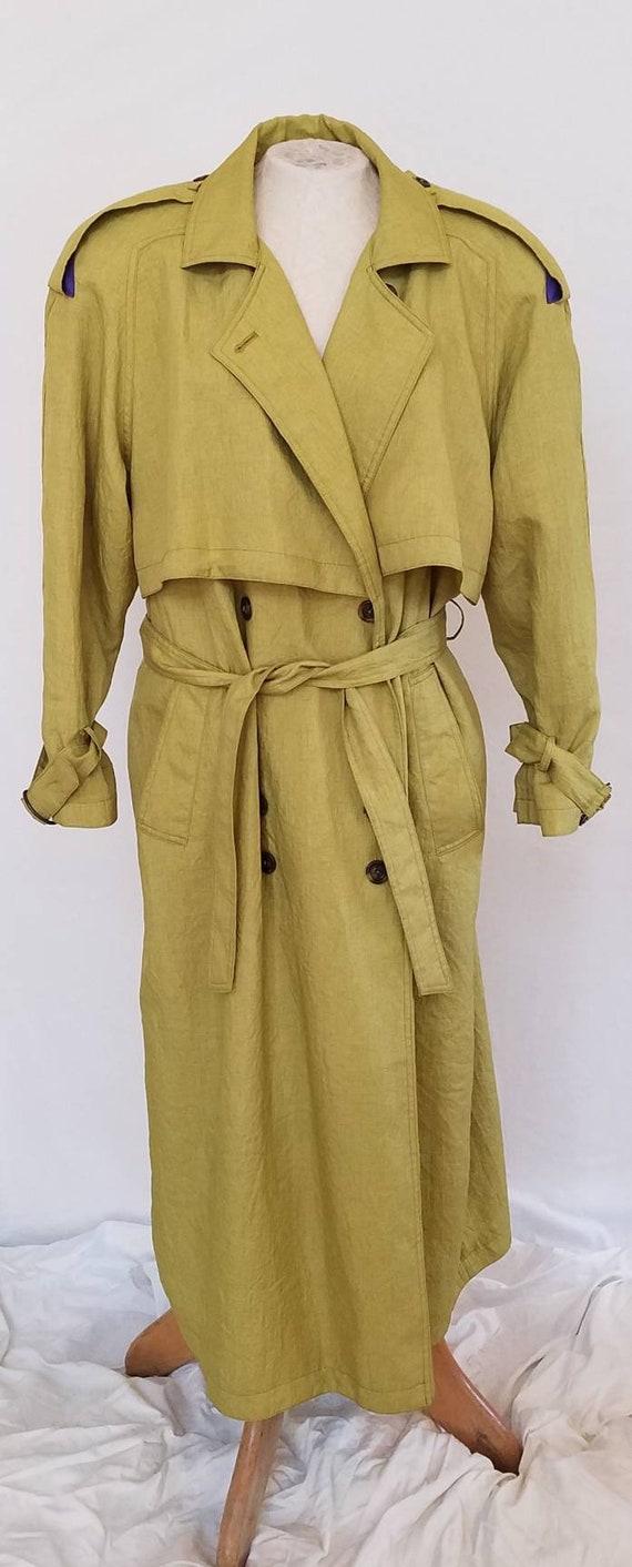 Vintage Chartreuse Jacket