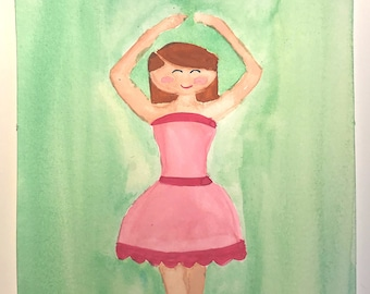 20da39ec15 Watercolor ballerina